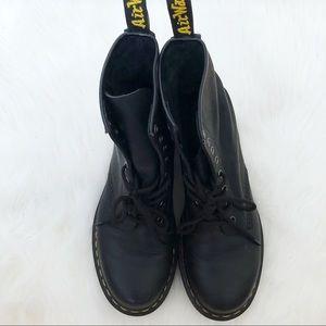 Dr. Martens Shoes - Dr. Martens Women's 1460 Black Leather Boots